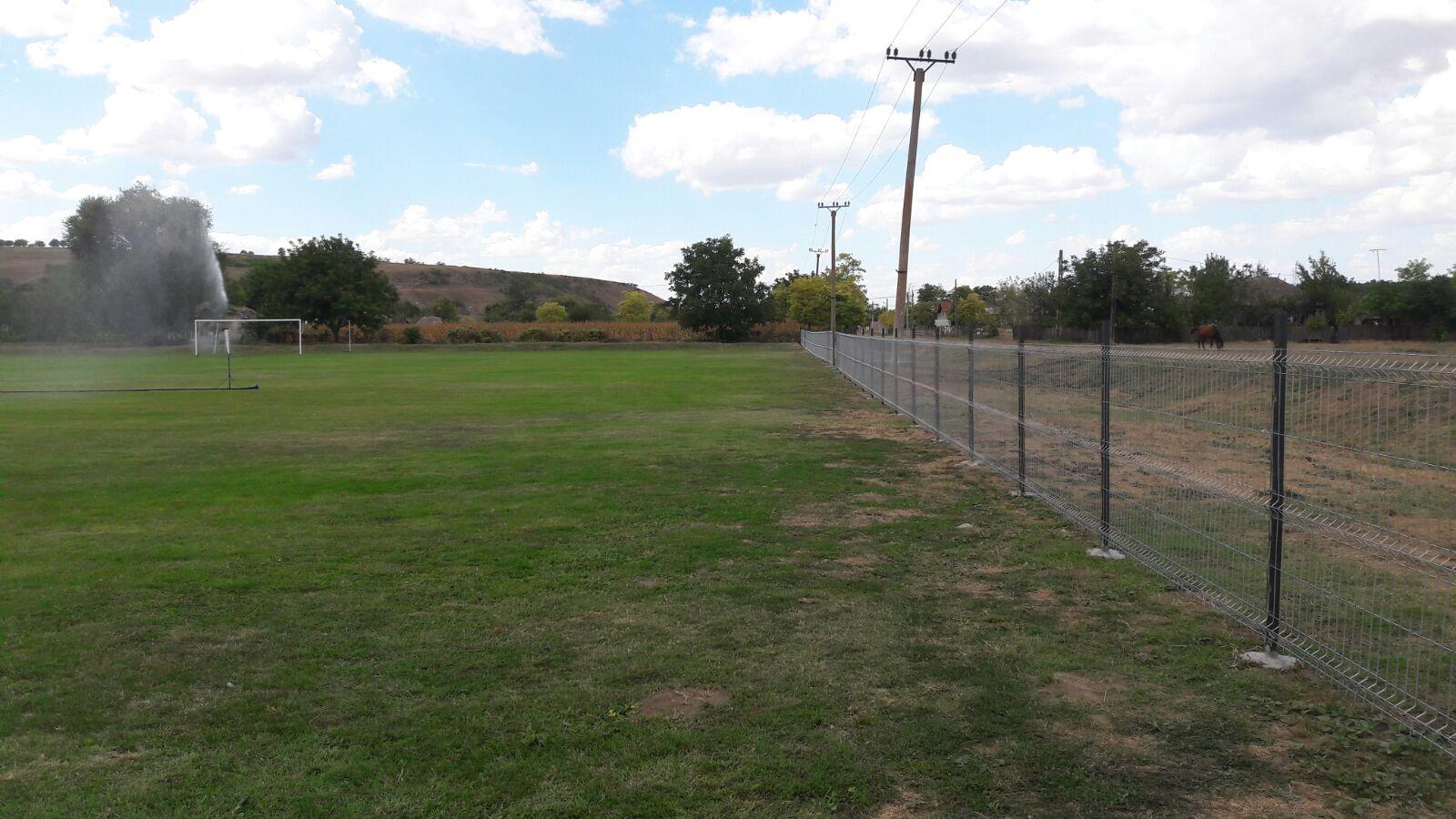 Gard teren fotbal Pestera