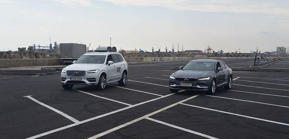 Volvo XC 90 și S90, în Portul Constanța