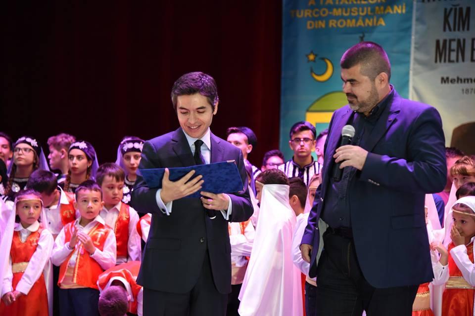Ambasador Turcia si Presedinte UDTTMR
