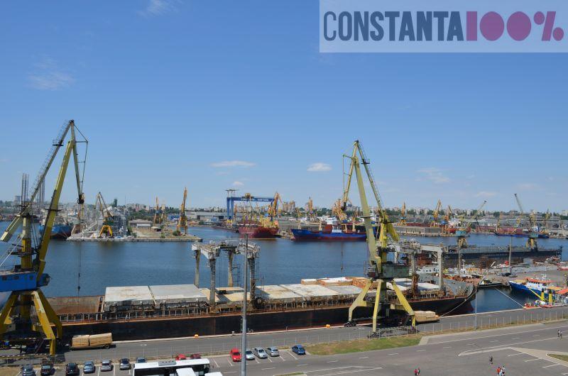 port constanta, economia judetului Constanta