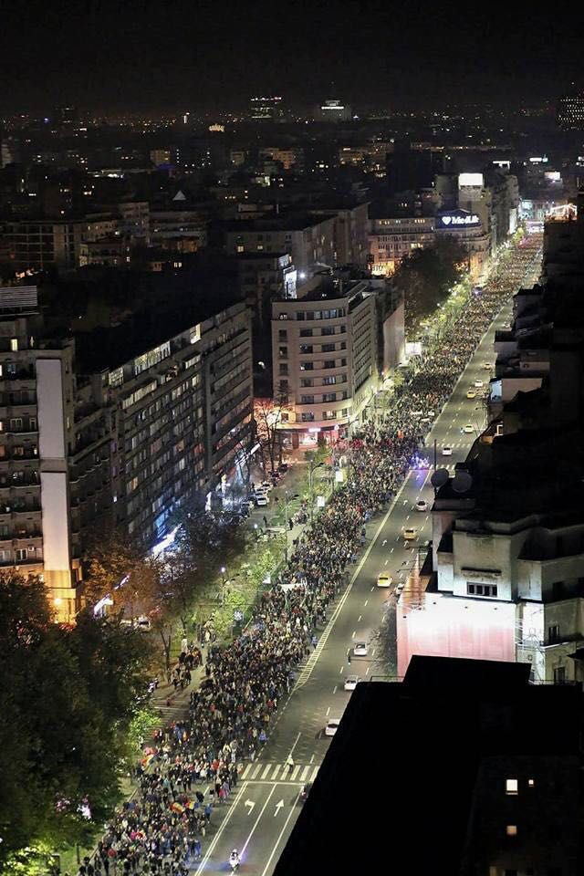 bucuresti protest