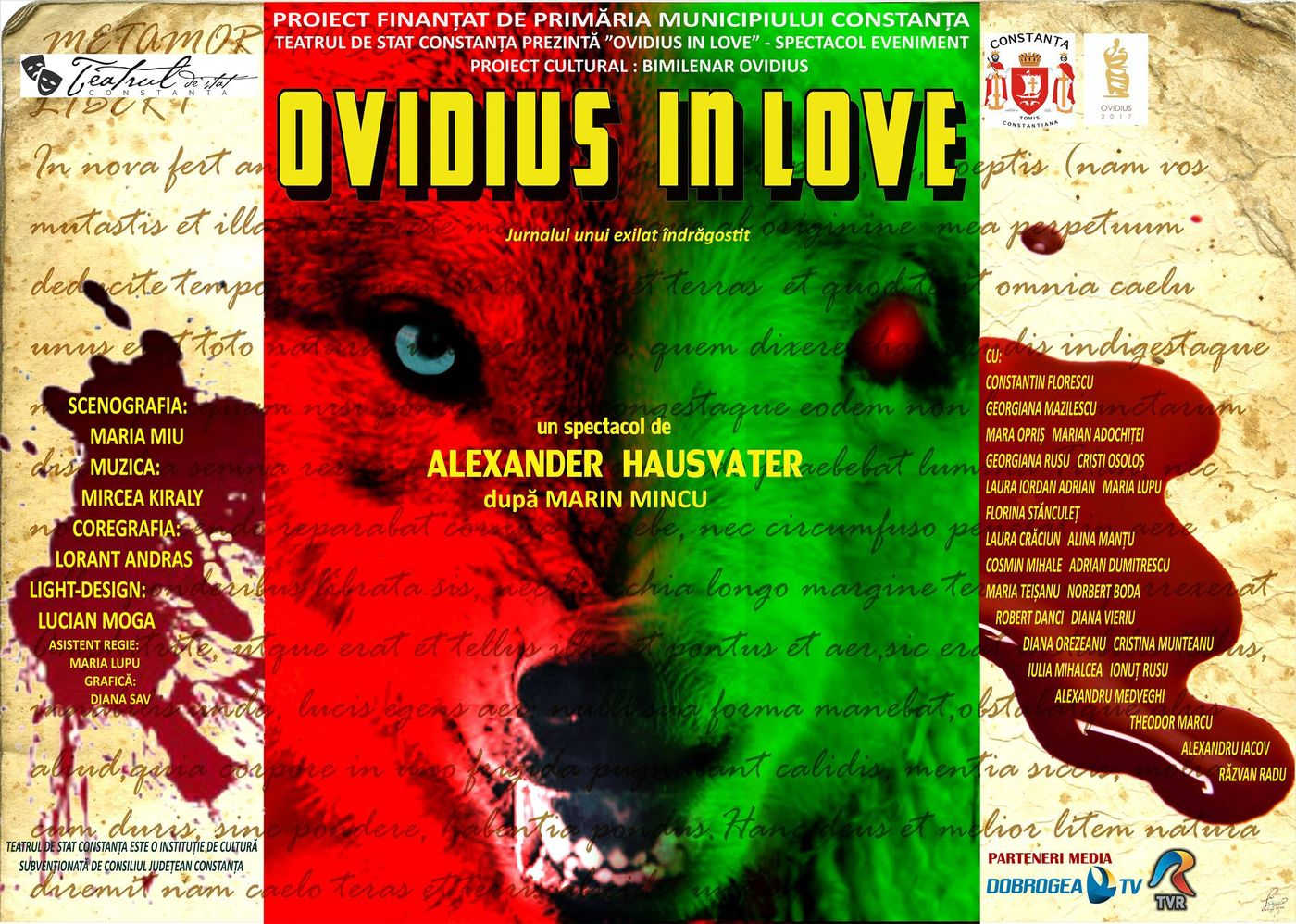 ovidius in love