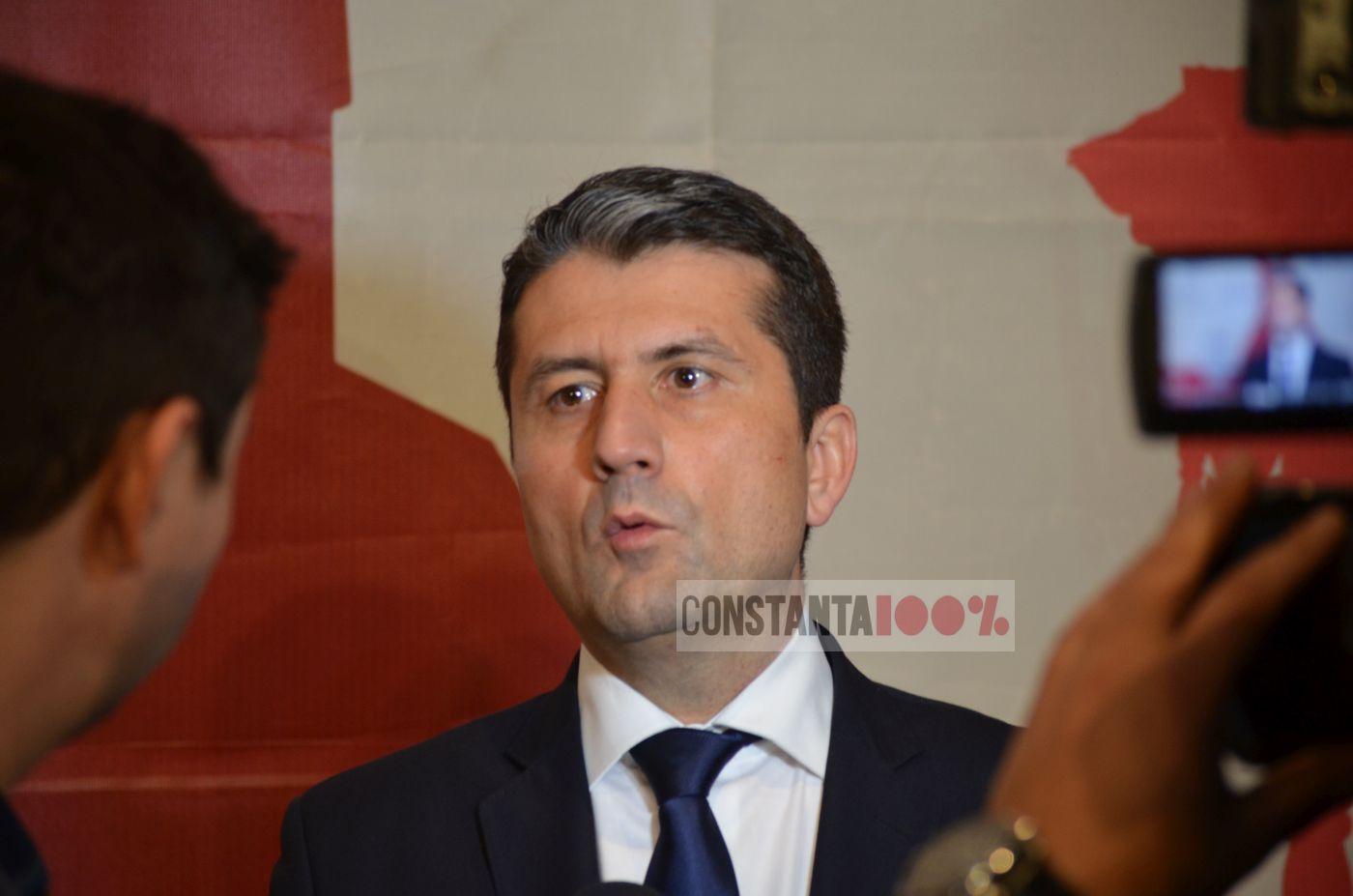 Decebal Făgădău, primarul Constanței