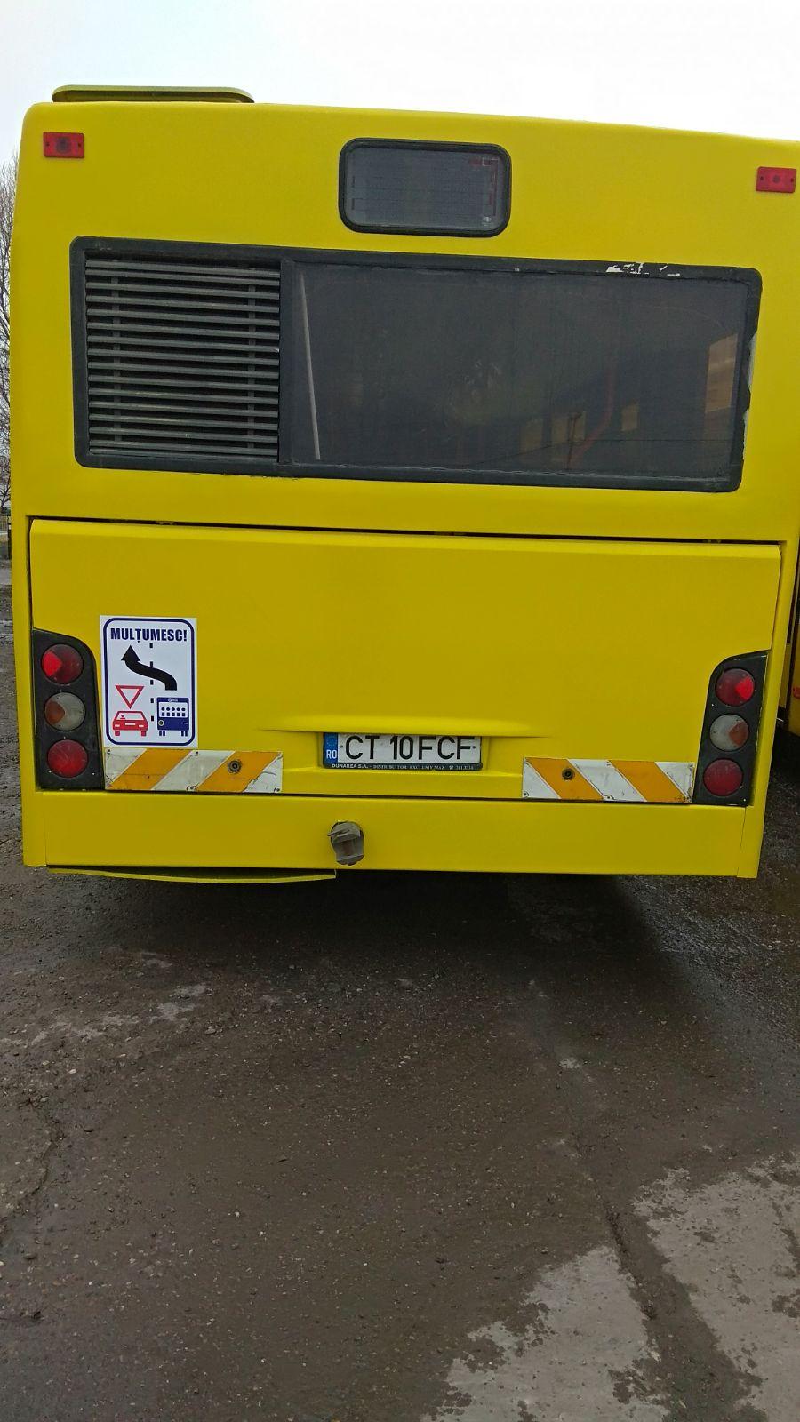 prioritate pentru autobuze