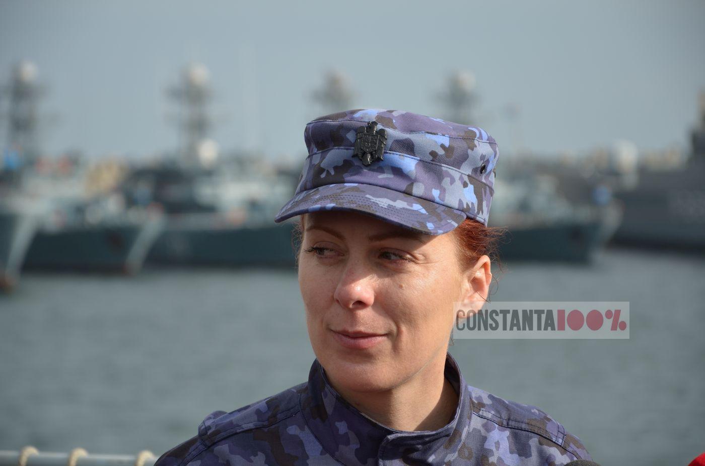 """delia neacsu, Comandantul dragorul maritim """"Lt. Lupu Dinescu"""""""