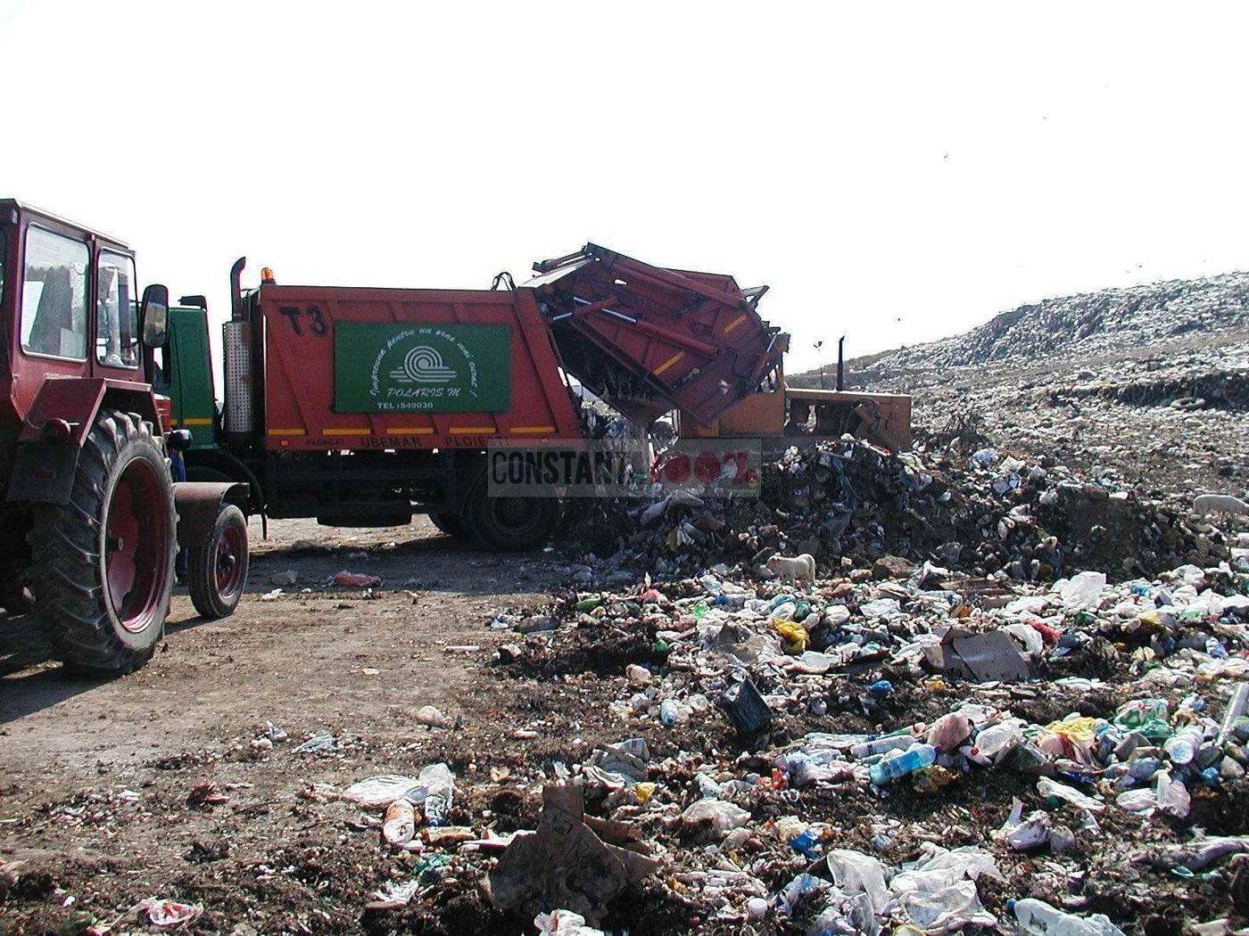 groapa de gunoi ovidiu depozitarea gunoiului