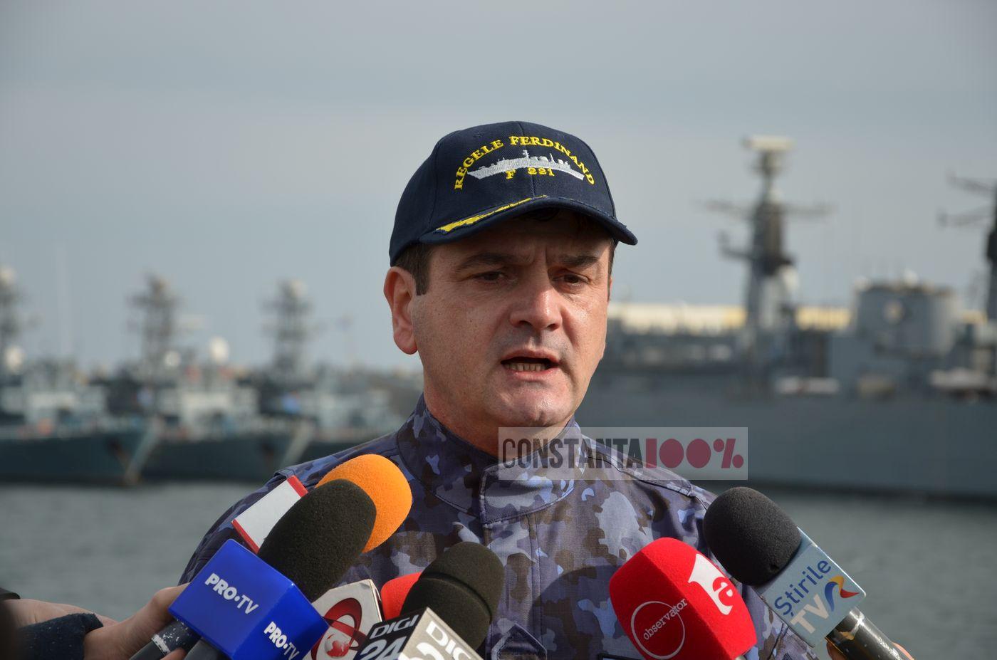 """Maria Ioan, comandantul fregatei """"Regele Ferdinand"""""""