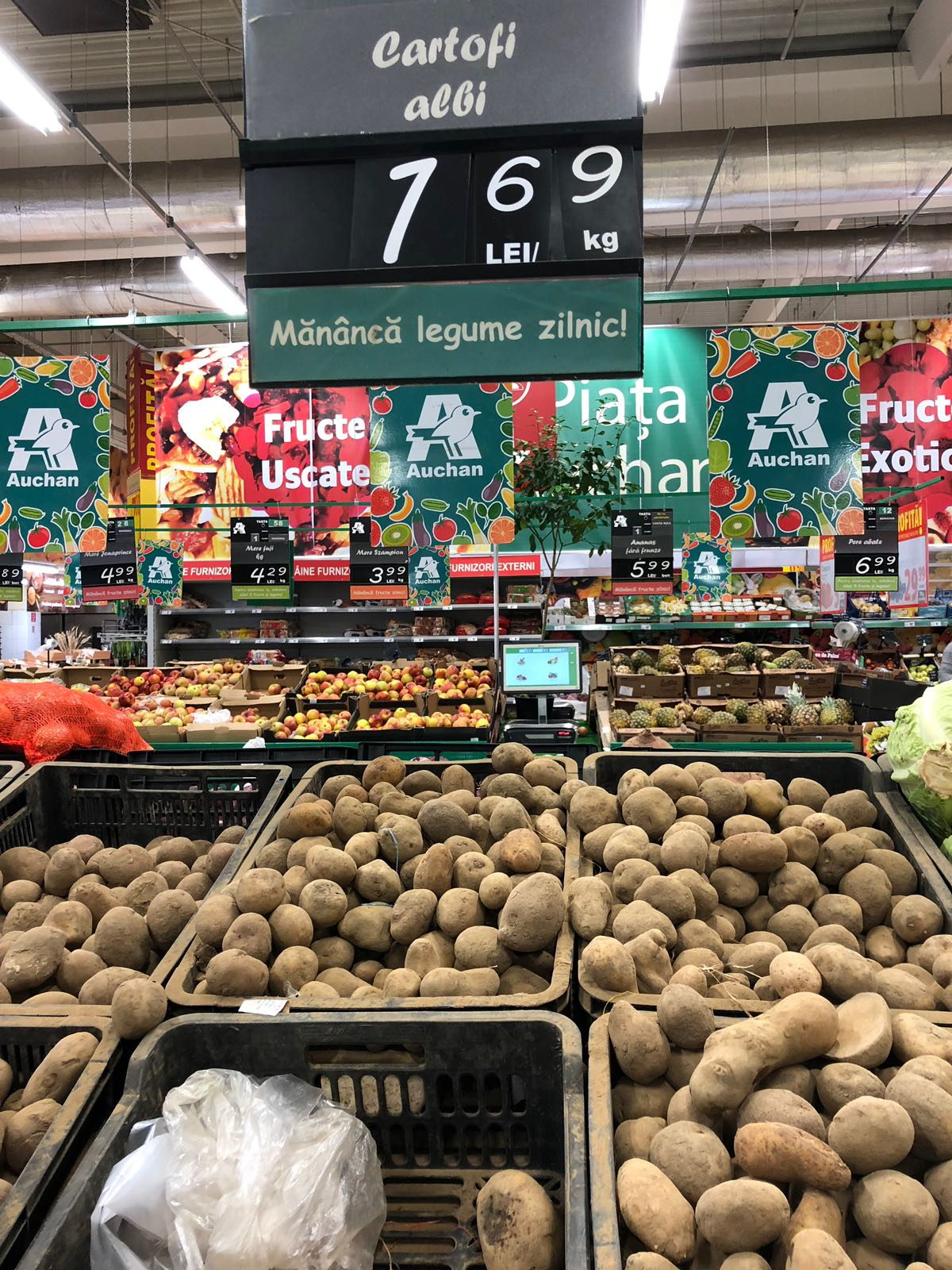 cartofi Auchan