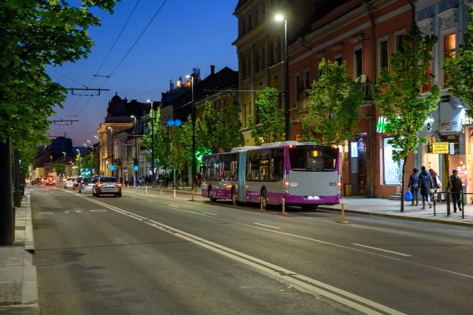 autobuz în Cluj
