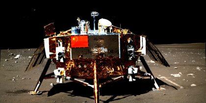 Vehiculul lunar Yutu, construit de chinezi